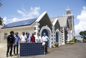 solar power saint lucia