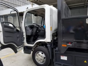 electric delivery vehicle