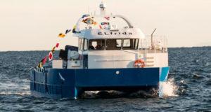 Electric Aquaculture Support Vessel