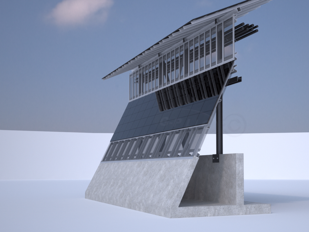 Solar Border Wall What Could It Mean Alternative