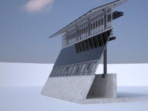 trump solar border wall