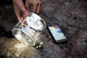 smart solar light